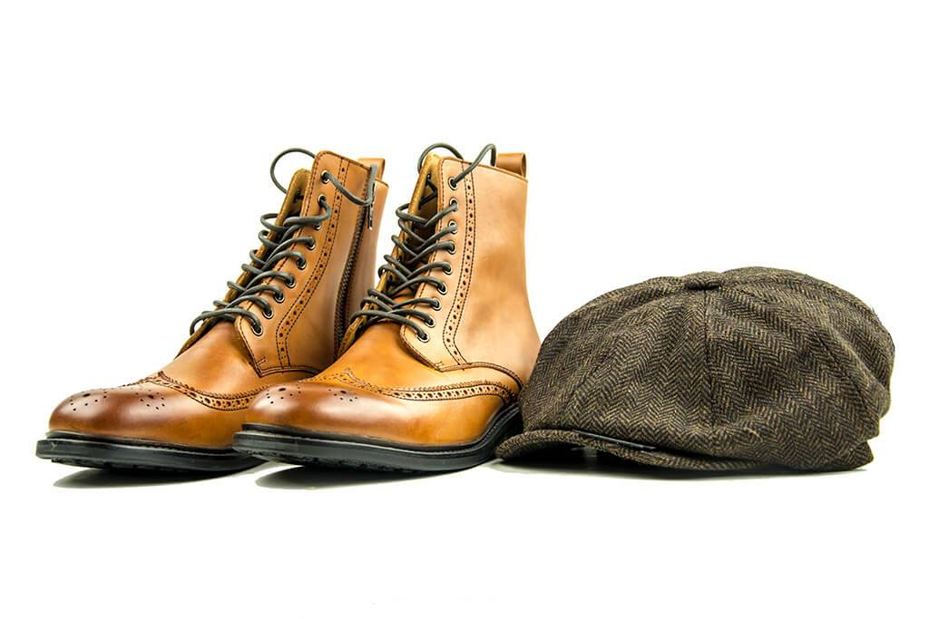 Shelby Brothers collection by Orange Fire Peaky boots Arthur by Blackstone