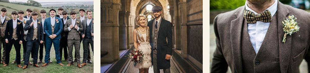 Bruiloft in Peaky Blinders stijl