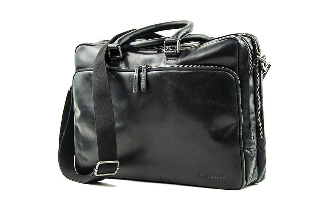 Maverick Smokey black laptoptas
