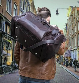 H.J. de Rooy Illinois brown weekender