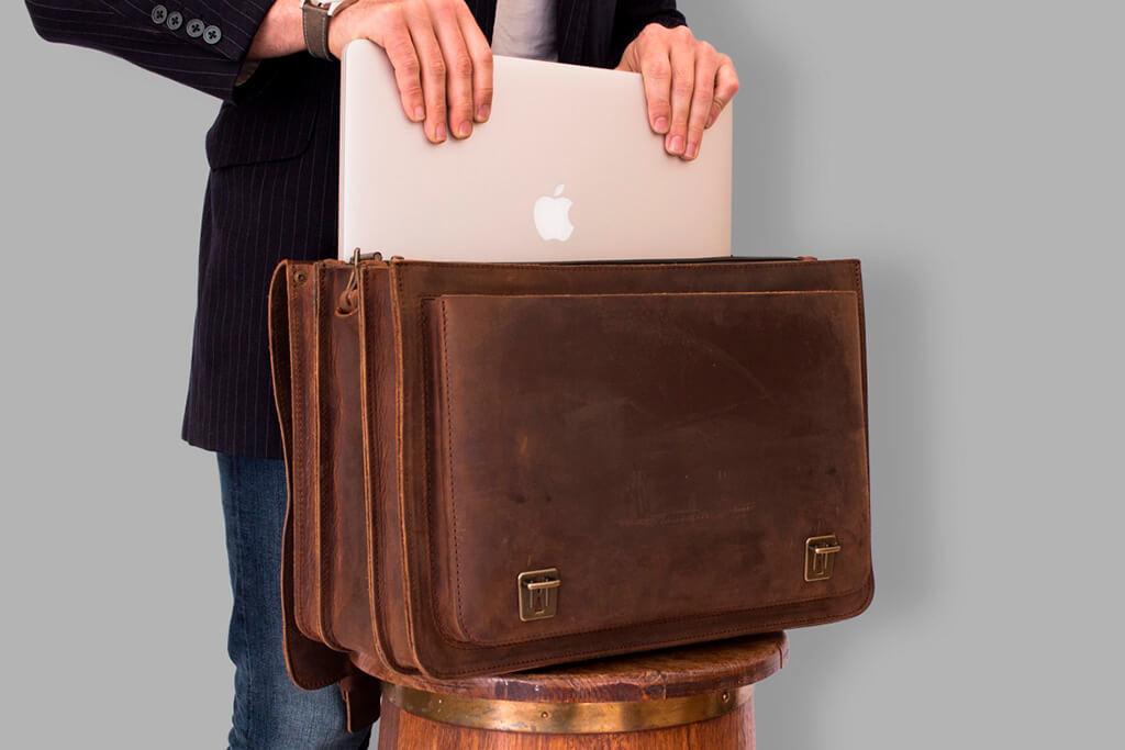 Ruitertassen Kurt office-bag