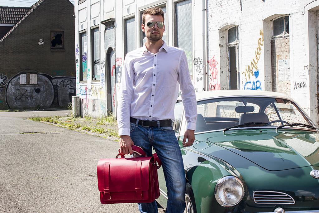 Ruitertassen Freek office-bag