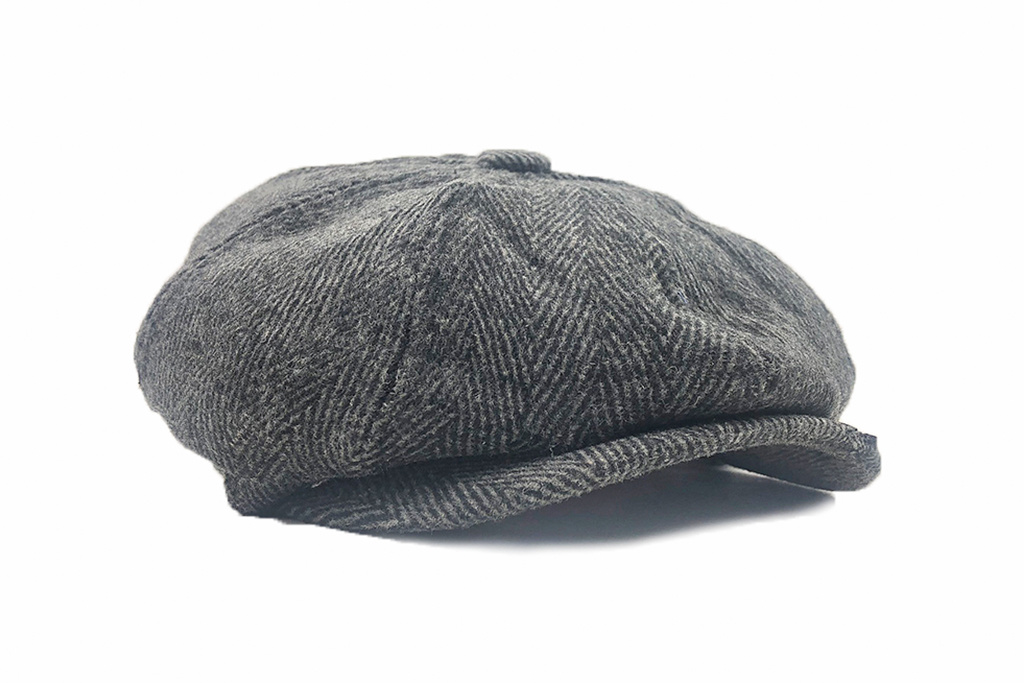 Shelby Brothers collection by Orange Fire Shelby Cap Charcoal Grey