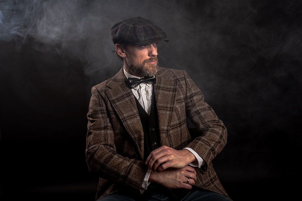 Shelby Brothers collection by Orange Fire SHELBY CAP Brown mix