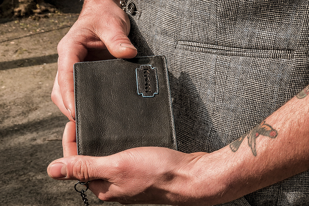 Shelby Brothers collection by Orange Fire Shelby chain wallet