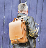 Ruitertassen Writer's bag rugzak tan