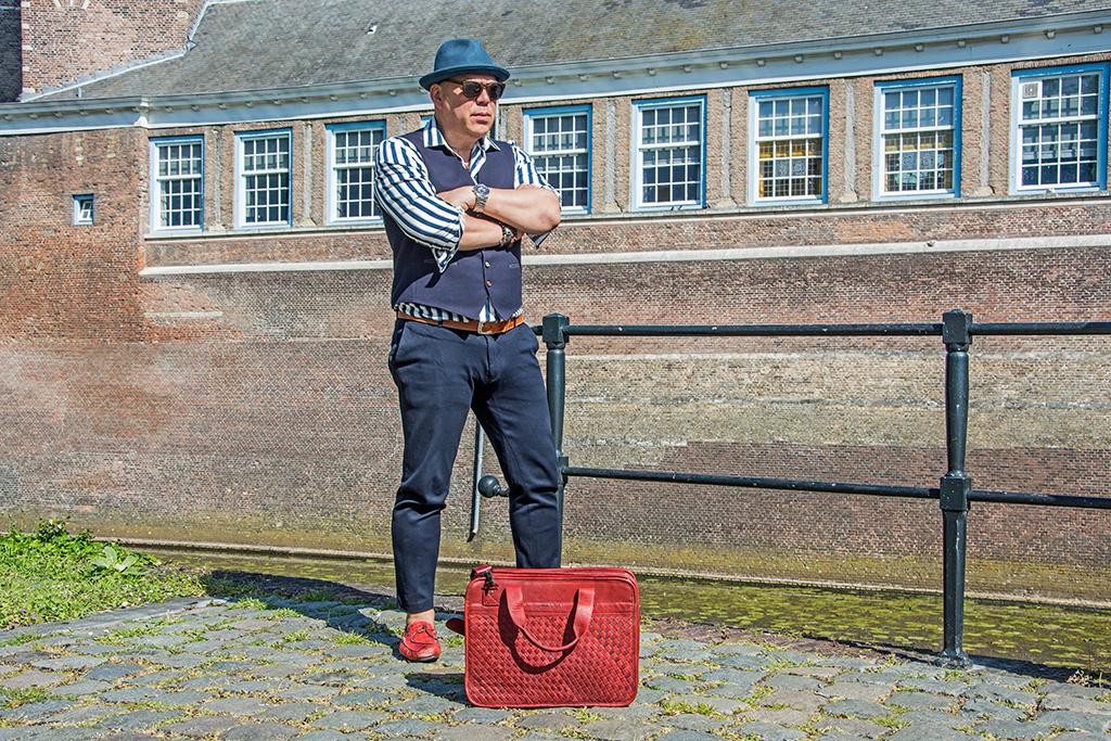 Paul Marius Oliver retro officebag