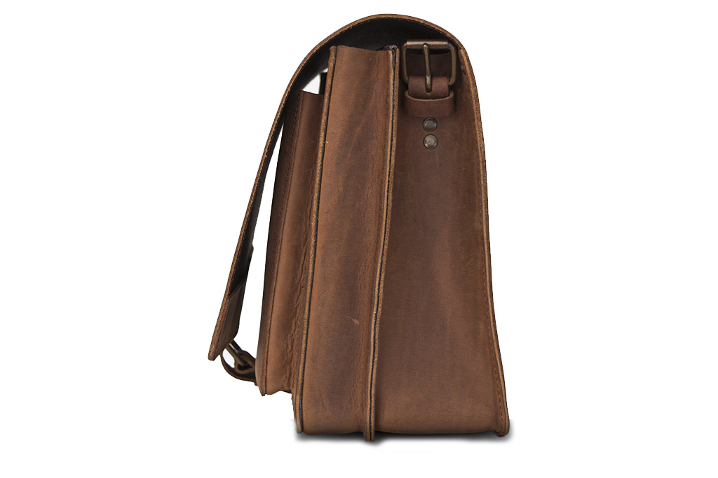 Ruitertassen Boston messenger-bag
