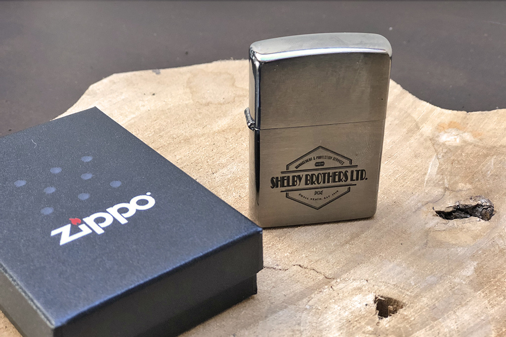 Shelby Brothers collection by Orange Fire Shelby Zippo
