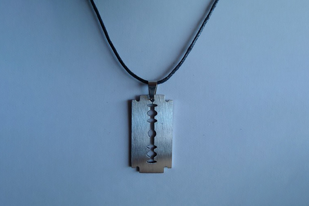 Shelby Brothers collection by Orange Fire Razor ketting