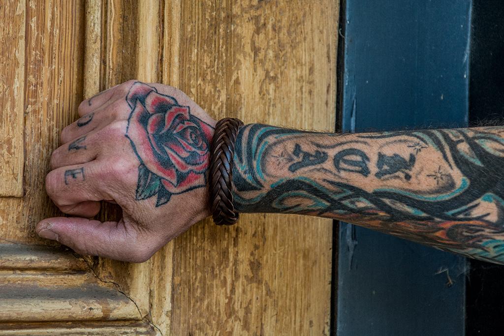 Josh Josh© armband brown gevlochten