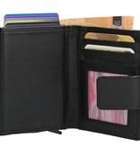 Leather Design LD RFID Billfold  Creditcardhouder Portemonnee