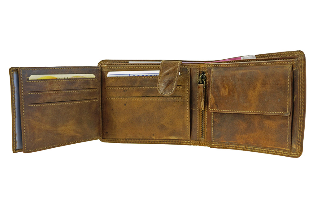 Leather Design LD portemonnee HU 390