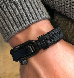 Musthef Rebel Black heren armband