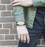 Josh Josh© armband visgraat black