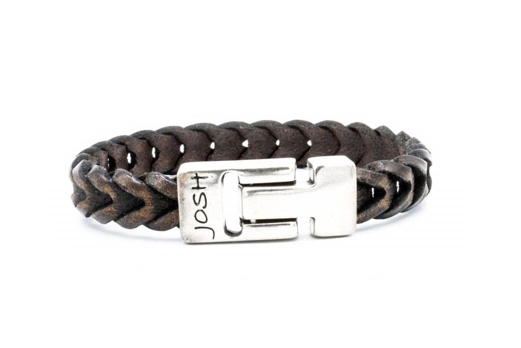Josh Josh© armband visgraat brown
