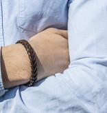 Josh Josh© armband visgraat cognac