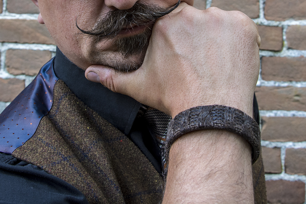 Shelby Brothers collection by Orange Fire Peaky bracelet brown XL by Josh©