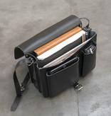 Ruitertassen Norfolk messenger-bag