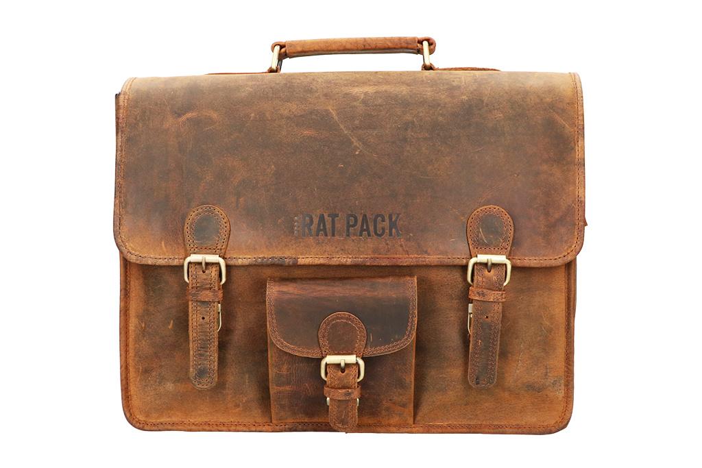 Rat Pack by Orange Fire 15 inch laptoptas Garry vintage-look