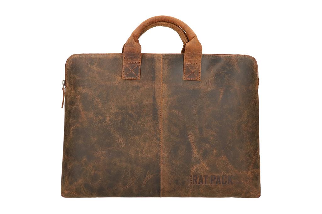 Rat Pack by Orange Fire Jazz 17 inch laptoptas-sleeve