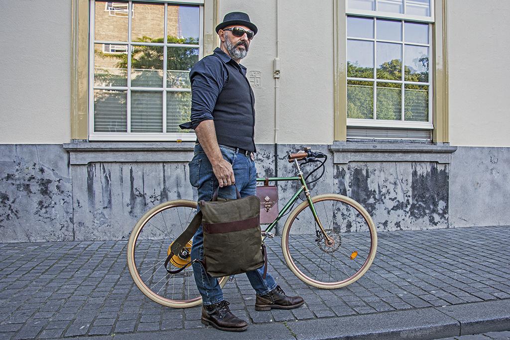 Urban Bozz Rugzak Bobby Army-green