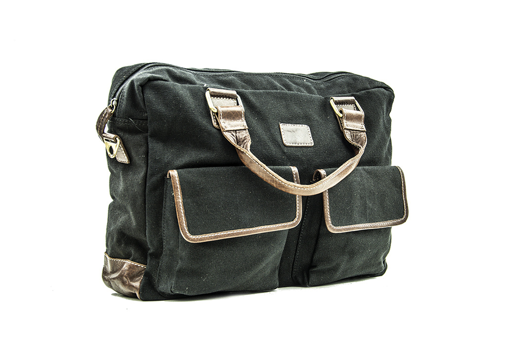Urban Bozz Laptoptas Panza black
