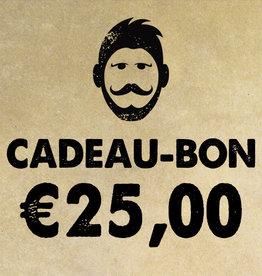 Urban Bozz Cadeaubon t.w.v.  €25,00