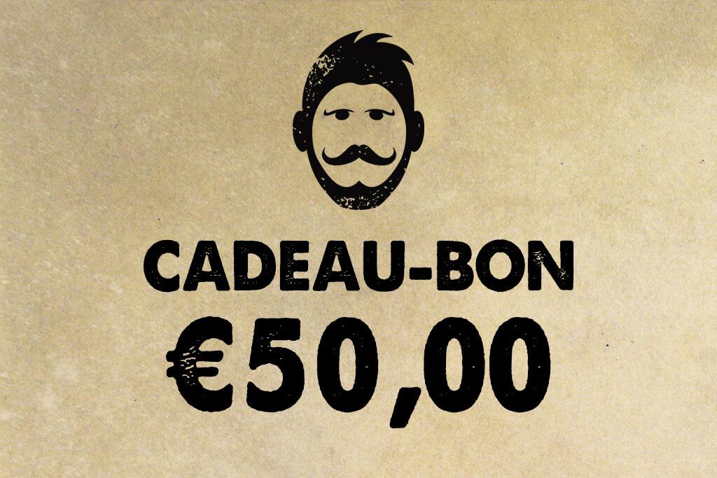 Urban Bozz Gift Card / Cadeaubon t.w.v.  €50,00