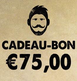 Urban Bozz Cadeaubon t.w.v.  €75,00