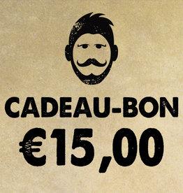 Urban Bozz Cadeaubon t.w.v.  €15,00