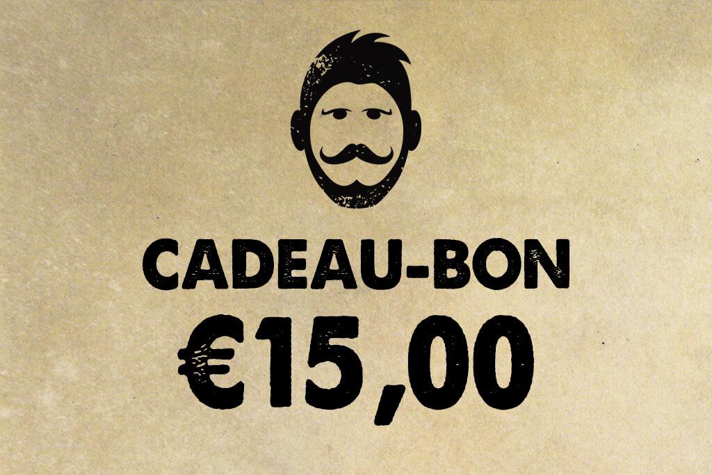 Urban Bozz Gift Card / Cadeaubon t.w.v.  €15,00