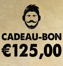 Urban Bozz Cadeaubon t.w.v.  €125,00