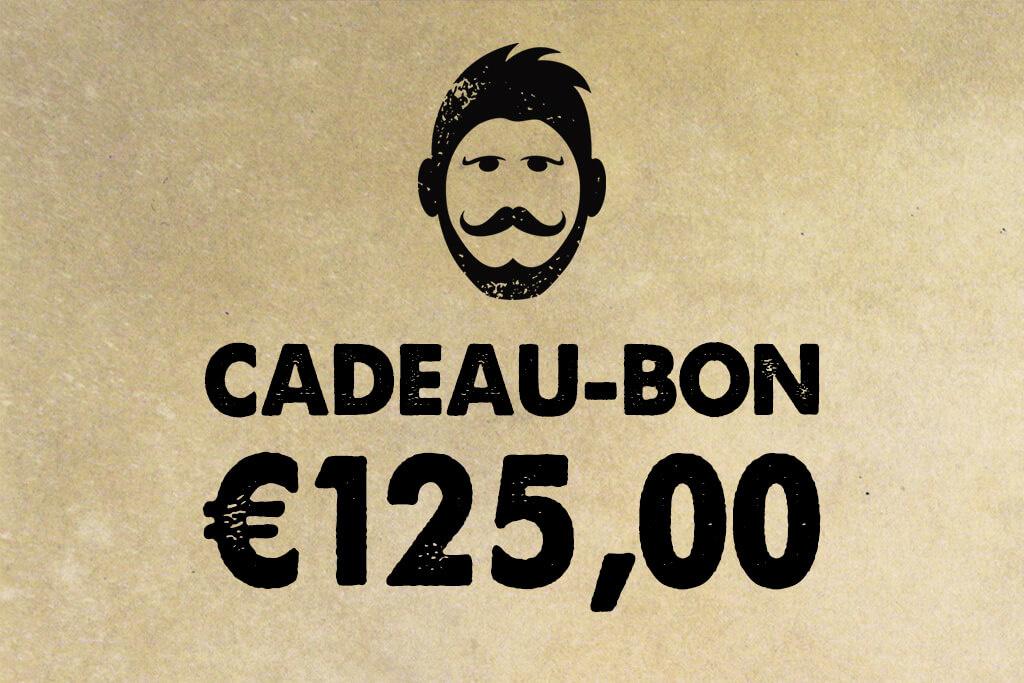 Urban Bozz Gift Card / Cadeaubon t.w.v.  €125,00