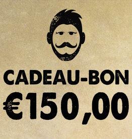 Urban Bozz Cadeaubon t.w.v.  €150,00