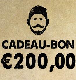 Urban Bozz Cadeaubon t.w.v.  €200,00