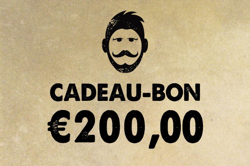 Urban Bozz Gift Card / Cadeaubon t.w.v.  €200,00