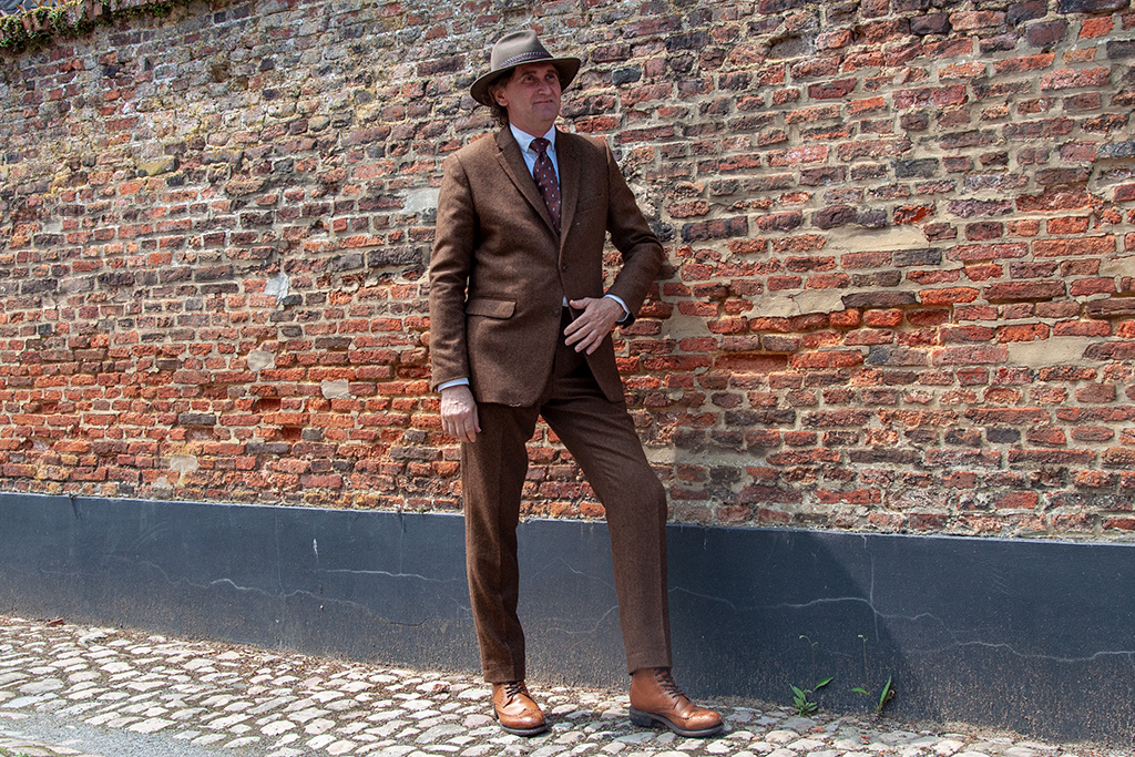 Shelby Brothers collection by Orange Fire Shelby tailormade suit brown