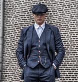 Shelby Brothers collection by Orange Fire 3-delig tweed pak Classic Navy Speckle