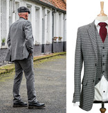 Shelby Brothers collection by Orange Fire 3-delig tweed pak Houndstooth