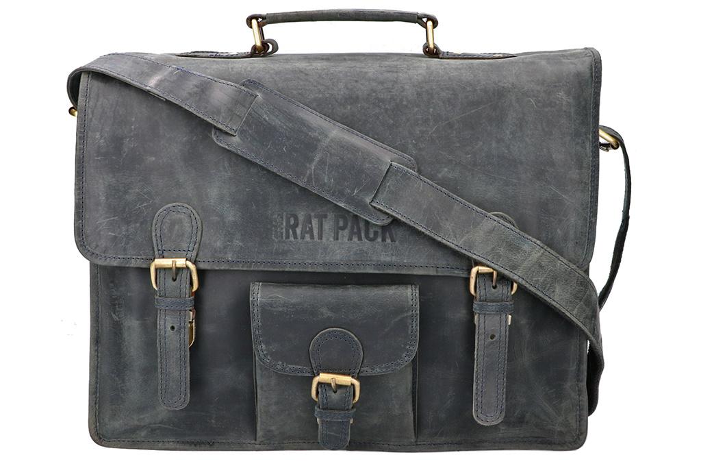 Rat Pack by Orange Fire 15 inch laptoptas Wolf vintage-look