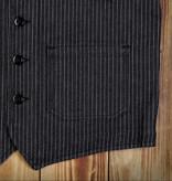 Pike Brothers 1937 roamer vest vest blue wabash