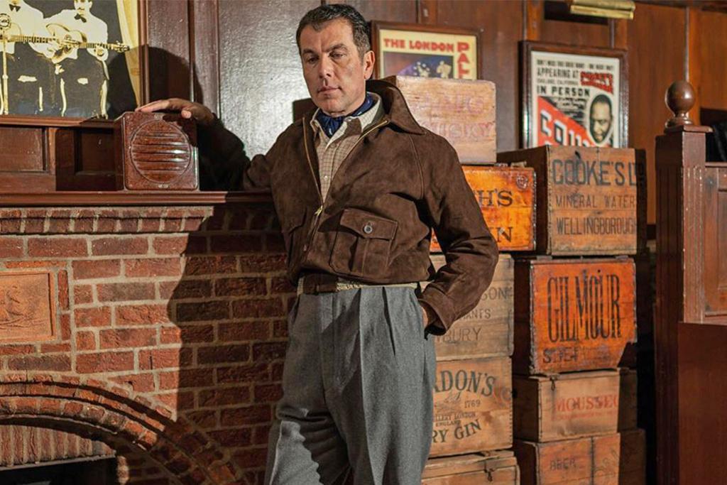 Simon James Cathcart 1938 Suede Brookland Jacket