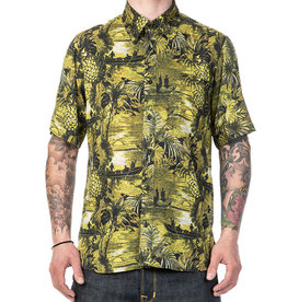 Pike Brothers 1937 Roamer Shirt  Makalawena yellow