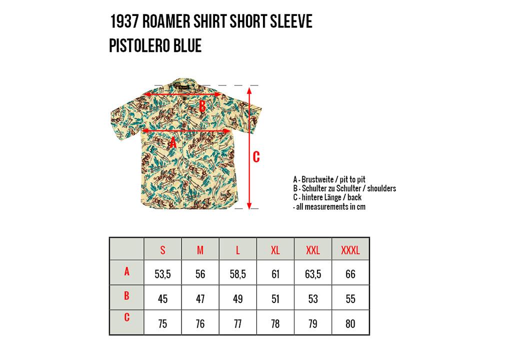 Pike Brothers 1937 Roamer Shirt Pistolero