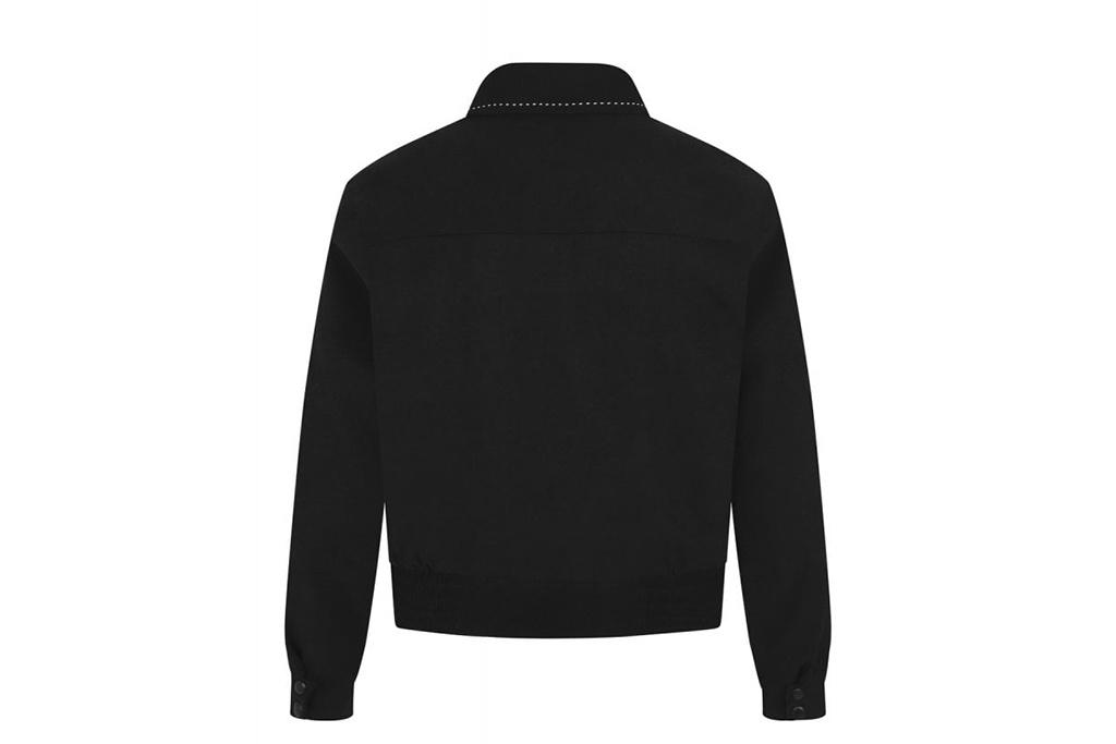 Collectif 50s Morgan Plain Jacket Black