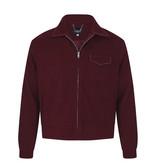 Collectif 50s Morgan Plain Jacket Burgundy