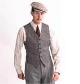 Simon James Cathcart 1928 Cream  Tattersall shirt