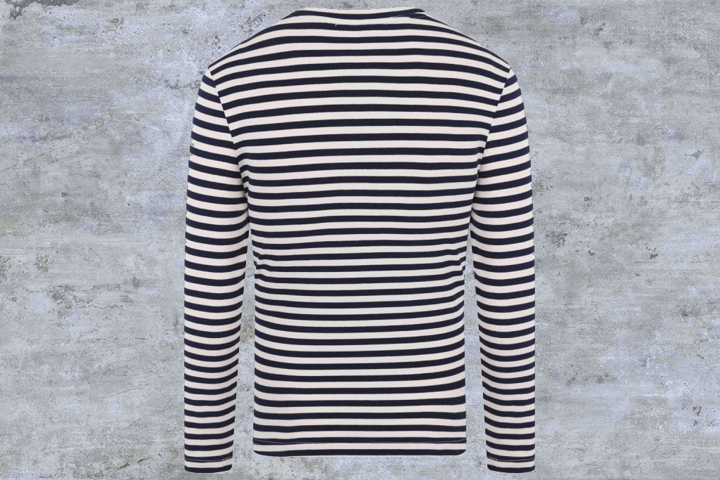 Collectif 1951 Marine  Striped Shirt Navy