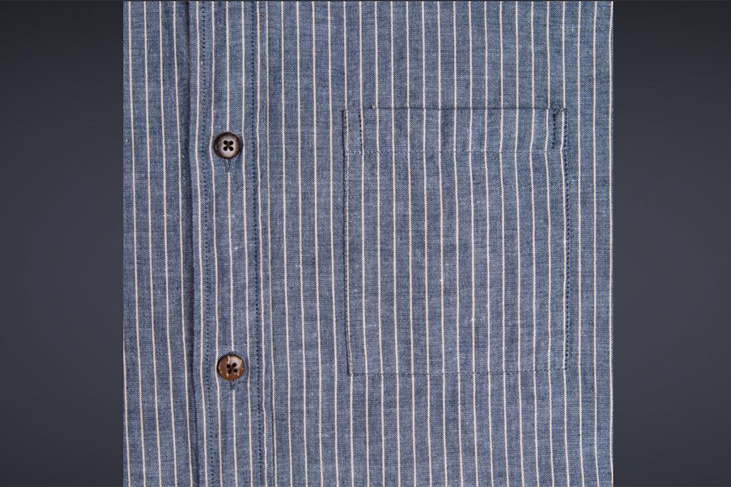 Pike Brothers 1923 Buccanoy Shirt Brisbane blue